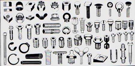 BOLTS, NUTS, SCREWS & OTHER FASTNERS